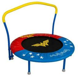 My First Wonder Woman 36-Inch Trampoline, with Handlebar