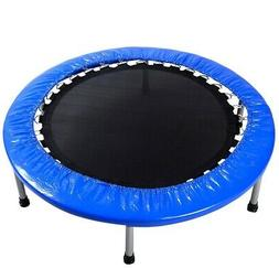 NEW 38 Foldable Mini Band Exercise Trampoline with Padding a
