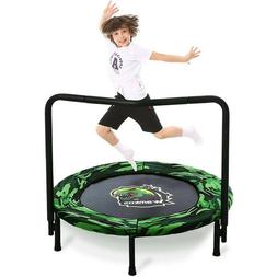 New Kids Trampoline Indoor Outdoor Exercise Safety Bounce Ju