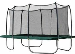new trampolines 14 rectangle trampoline with enclosure