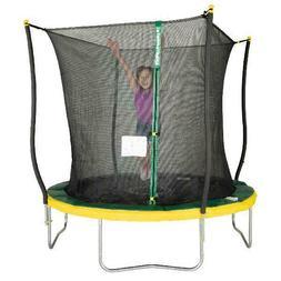 Outdoor 8 Foot Trampoline Safety Net Kids Children Safe Jump