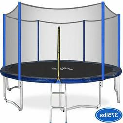 JUPA 15FT Trampoline for kids, Safe Outdoor Trampoline with