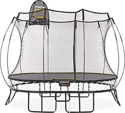 Springfree Trampoline - 8x11ft Medium Oval With Basketball H