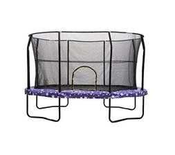 JumpKing Oval Trampoline with American Stars Graphic Pad, 8'