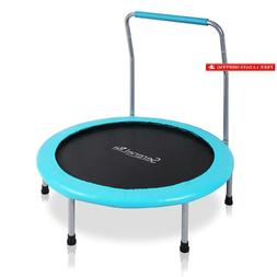 "Serenelife Portable  Foldable Trampoline - 36"" Dia Springf"