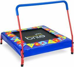 preschool jumper kids trampoline with handrail
