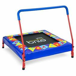 "Pure Fun Kids Preschool Jumper: 36"" Mini Trampoline with Han"