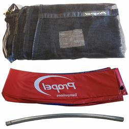 Propel Trampoline Replacement Parts Frame Tube Pad Netting N