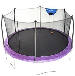 Ready to ship! Skywalker Trampolines 15-Foot JumpN'Dunk Tr