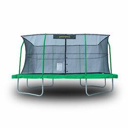 JumpKing 10 x 14 Foot Rectangular Trampoline with Safety Net
