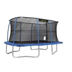 JumpKing 10 x 14 Foot Rectangular Trampoline with Safety Net