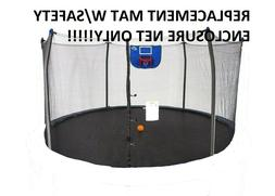 Skywalker REPLACEMENT MAT w/ Safety Enclosure Net for Trampo