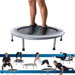 "Round 38"" Mini Trampoline Fitness Rebounder Indoor Home Gym"