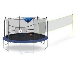 Skywalker Trampolines 15' Round Sports Arena Trampoline and
