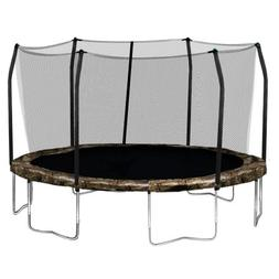 Skywalker Trampolines Round Trampoline and Enclosure with Ca