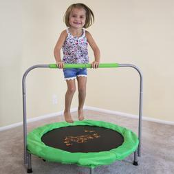 Skywalker Trampolines 36-Inch Bouncer Trampoline, Green padd