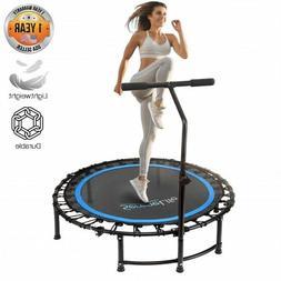 "SereneLife SLELT418 Fitness Exercise Mini Trampoline - 35.4"""