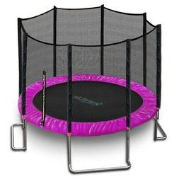 SereneLife SLTRA10PNK Stable and Strong Reinforced Trampolin