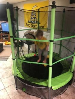 Small Trampoline For Kids With Enclosure Indoor Outdoor Todd