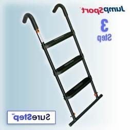 JumpSport SureStep 3-Step Trampoline Ladder   Powder Coated
