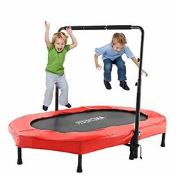 Toddlers Mini Trampoline For Two Kids Fitness Jumper Bouncer