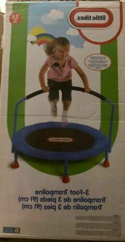 Trampoline Little Tikes 3' Indoor Kids Bounce Jumping Play F