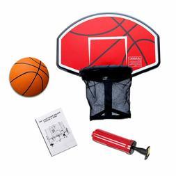 Exacme Trampoline Basketball Hoop Game Play Sport Orange/Gre