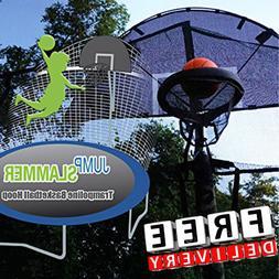 Trampoline Basketball Hoop Outdoor Fun Child Play Fun Foam B