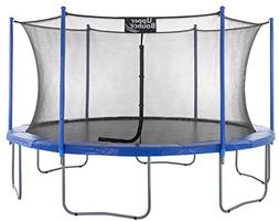 Upper Bounce 16 FT. Trampoline & Enclosure Set equipped with