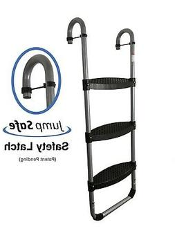 Trampoline Ladder: 3-Steps with Safety Latch by Trampoline P