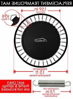 """SkyBound Premium 159"""" Trampoline Mat w/ 96 V-Rings for JumpK"""