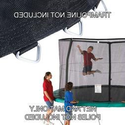 trampoline net mat combo