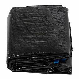 15 Ft. Trampoline Rain Cover in Black