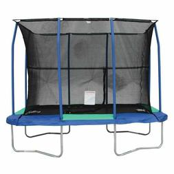 Trampoline Rectangle 7 By 10 Foot Safety Net Steel Springs P