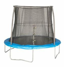 JumpKing Outdoor Trampoline and Safety Net Enclosure Combo
