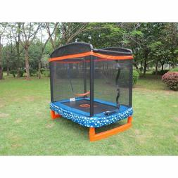 Trampoline Safety Net Enclosure Kids Outdoor Jumping Bounce