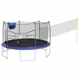 trampolines 15 round sports arena trampoline w