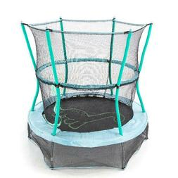 Trampolines 55 Inch Bounce-N-Learn with Enclosure and Sound