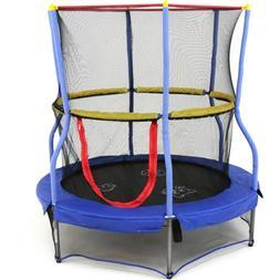 trampoline 55 inch bounce n learn enclosure