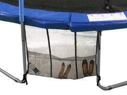 Upper Bounce Universal 3-Pouch Trampoline Shoe Bag, Black