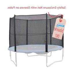 Upper Bounce 10-Feet Trampoline Enclosure Safety Net for 10-
