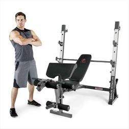 Weight Bench for Full-Body Workout Marcy Olympic MD-857 Adju